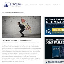 Download PDF Financial GENIUS: Permission Slip
