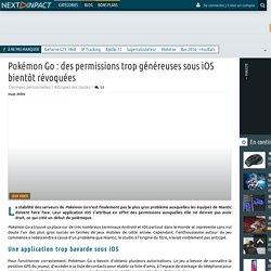 Pokémon Go : des permissions trop généreuses sous iOS bientôt révoquées