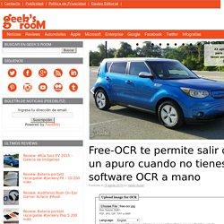 Free-OCR te permite salir de un apuro cuando no tienes software OCR a mano
