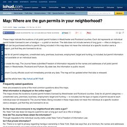 Map: Where are the gun permits in your neighborhood?