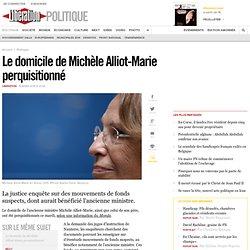 Le domicile de Michèle Alliot-Marie perquisitionné