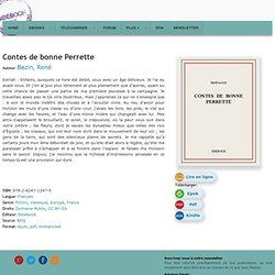 Contes de bonne Perrette - Bazin, René