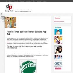 Perrier : une campagne publicitaire Pop Art