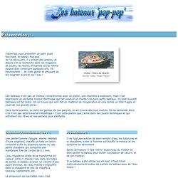 JP Perroud, les bateaux 'pop-pop', un jouet pour petits et grands