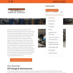 Auto Maintenance Services in Perrysburg