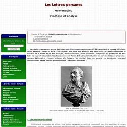 Lettres persanes - Montesquieu