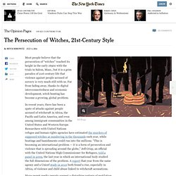 The Persecution of Witches, 21st-Century Style