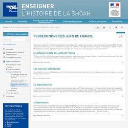 Persécutions des Juifs de France