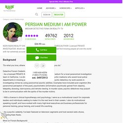 Persian medium psychic