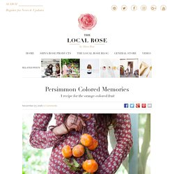 Persimmon Colored Memories