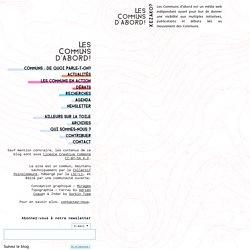 La persistance des Communs fonciers en Angleterre et en Écosse - Les Communs d'Abord