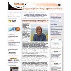 Assurance autonomie - La persistance de la dévalorisation du travail des femmes