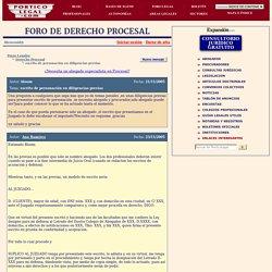 Foros de Derecho: Escrito de personación en diligencias previas