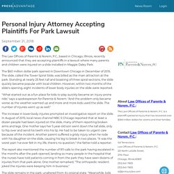 Personal Injury Attorney Accepting Plaintiffs For Park Lawsuit