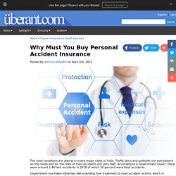 Why Must You Buy Personal Accident Insurance