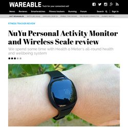 NuYu Personal Activity Monitor and Wireless Scale review