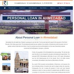 Personal Loan in Ahmedabad