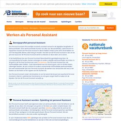 Personal Assistant: Functie, Skills, Salaris, Carrière & Werk