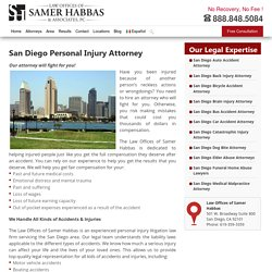 San Diego Personal Injury Attorney - Samer Habbas & Associates, PC