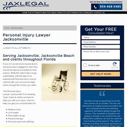 Personal Injury Attorney in Jacksonville