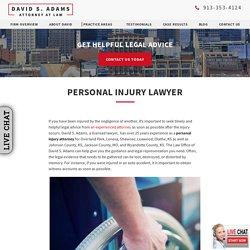 Personal Injury Attorney in Overland Park, Lenexa & Olathe, KS