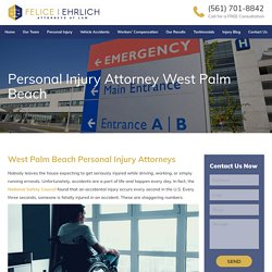 Personal Injury Attorneys West Palm Beach - Felice and Ehrlich