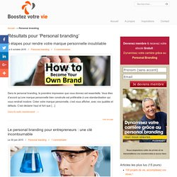 Personal branding Archives