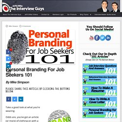 Personal Branding For Job Seekers 101
