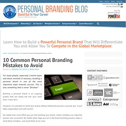 Personal Branding Blog - Stand Out In Your Career