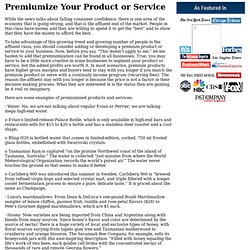Personal Branding Expert JW Dicks: Premiumize Your Product or Service