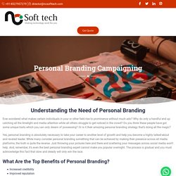 Personal Branding Agency in India, Personal Branding Service