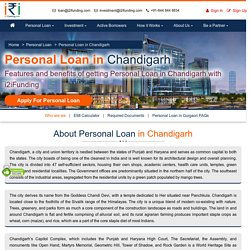 Apply for Instant Personal Loan in Chandigarh
