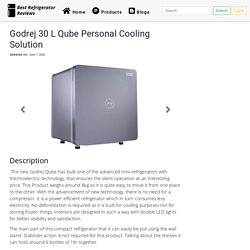 Godrej 30 L Qube Personal Cooling Solution