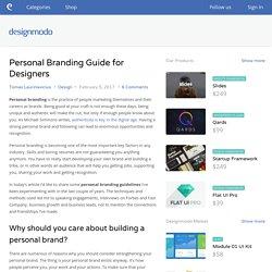 Personal Branding Guide for Designers - Designmodo