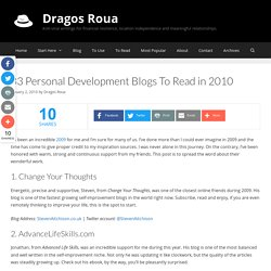 33 Blogs To Read in 2010 - Flock