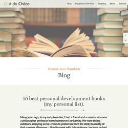 10 best personal development books (my personal list). - Aldo Civico Aldo Civico