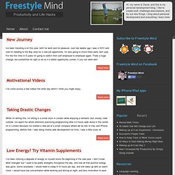Personal Development - Freestyle Mind