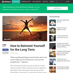 Personal Development: How to Reinvent Yourself for the Long Term