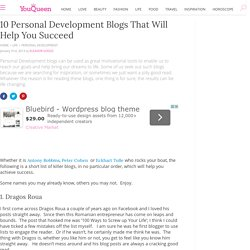 10 Personal Development Blogs That Will Help You Succeed - YouQueen