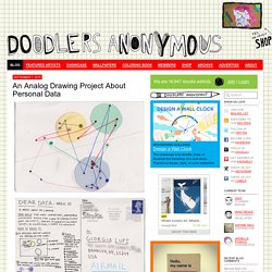 Blog: An Analog Drawing Project About Personal Data - Doodlers Anonymous