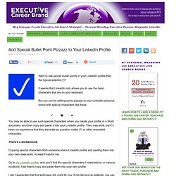 C-level Executive Resume Writing, Biography, Personal Branding, Online Identity, Job Search Services