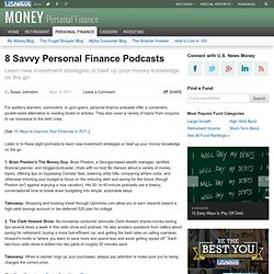 8 Savvy Personal Finance Podcasts
