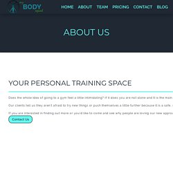 Personal fitness Trainer in Alloa And Stirling