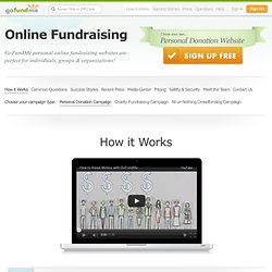 Learn how to raise money online with GoFundMe!