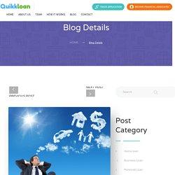 Personal Loan, Golden rules to follow when taking a loan by Quikkloan
