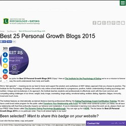 Best 25 Personal Growth Blogs 2015