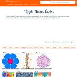 Free for personal use Hippie Flower Vector of your choice