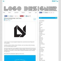 Personal Identity Design: Lucas Young - Logo Designer