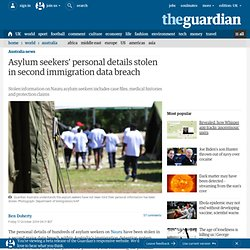 Asylum seekers' personal details stolen in second immigration data breach