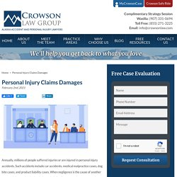 Personal Injury Claims Damages